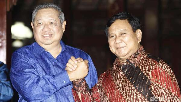 SMRC: SBY Ikut Pecat Prabowo, Tak Mungkin Dukung di Pilpres 2019