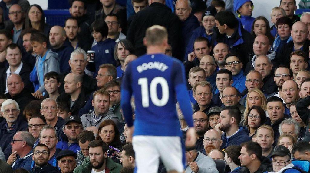 Senangnya Rooney Berseragam Biru Lagi di Goodison Park