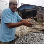 Garam Langka, Ini Curhat Pedagang Ikan Asin