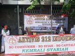Massa Aksi 287 Mulai Bergerak dari Masjid Istiqlal ke MK