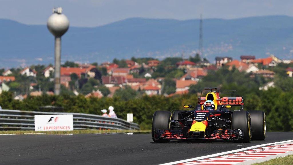 Ricciardo Tercepat di Latihan Pertama