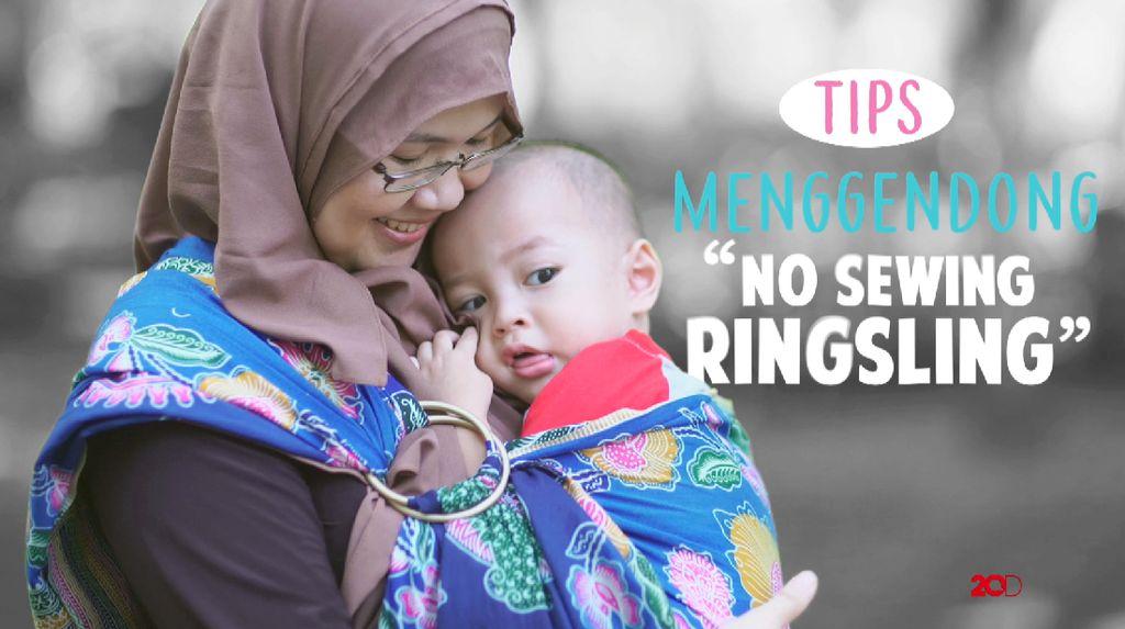 Video: Tutorial Gendongan No Sew Ring Sling