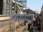 PT KCJ Uji Coba Sinyal dan Listrik KRL Rute Jakarta-Cikarang