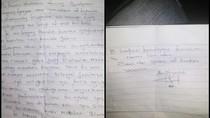 Surat Wasiat Ano yang Tewas Gantung Diri Usai Bunuh Yayan