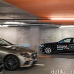 Canggih, Ada Parkir Valet Mobil Tanpa Sopir di Stuttgart