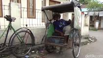 11 Tahun Menabung, Tukang Becak di Tasikmalaya Naik Haji