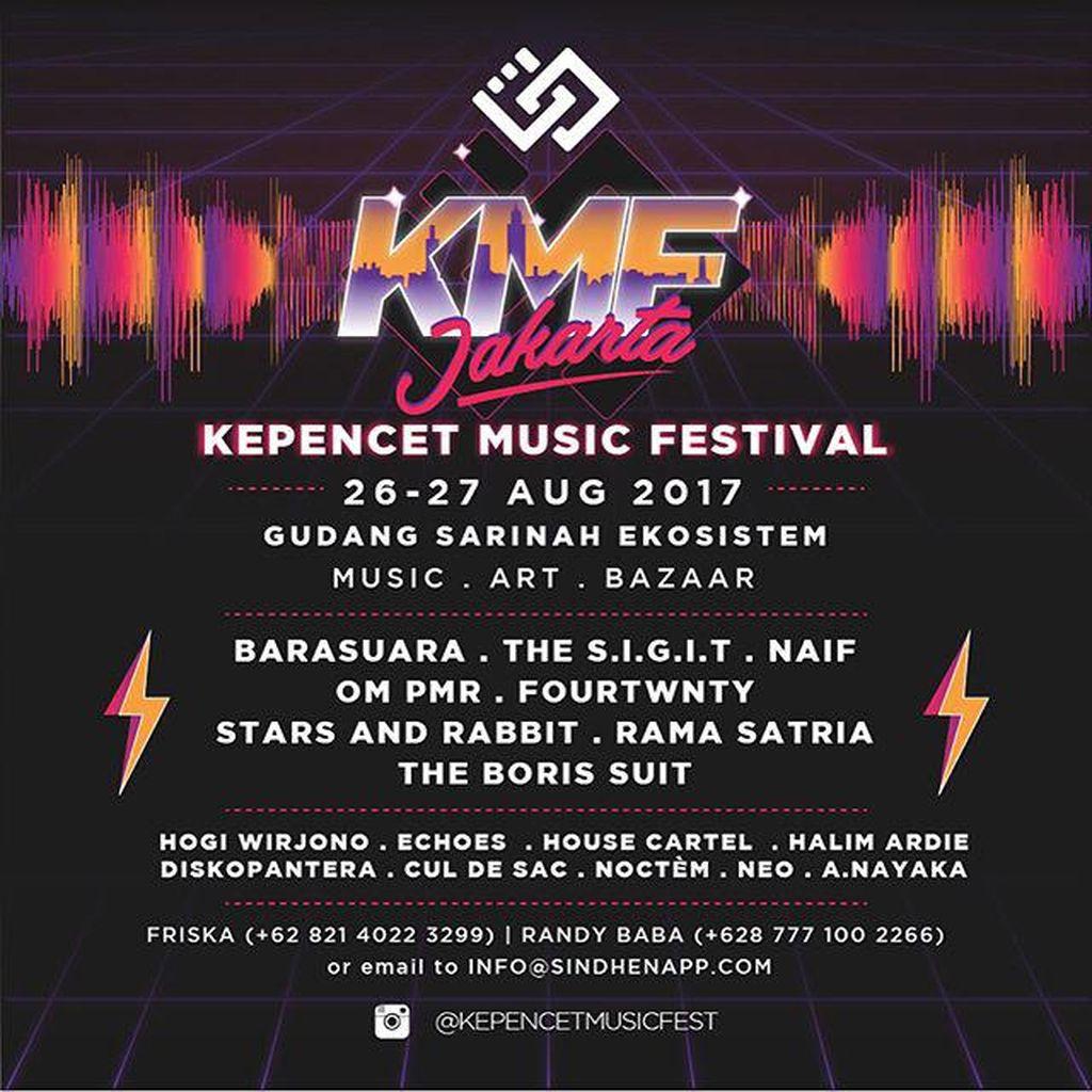 Satu Lagi Acara Seru Bulan Depan: Kepencet Music Festival!