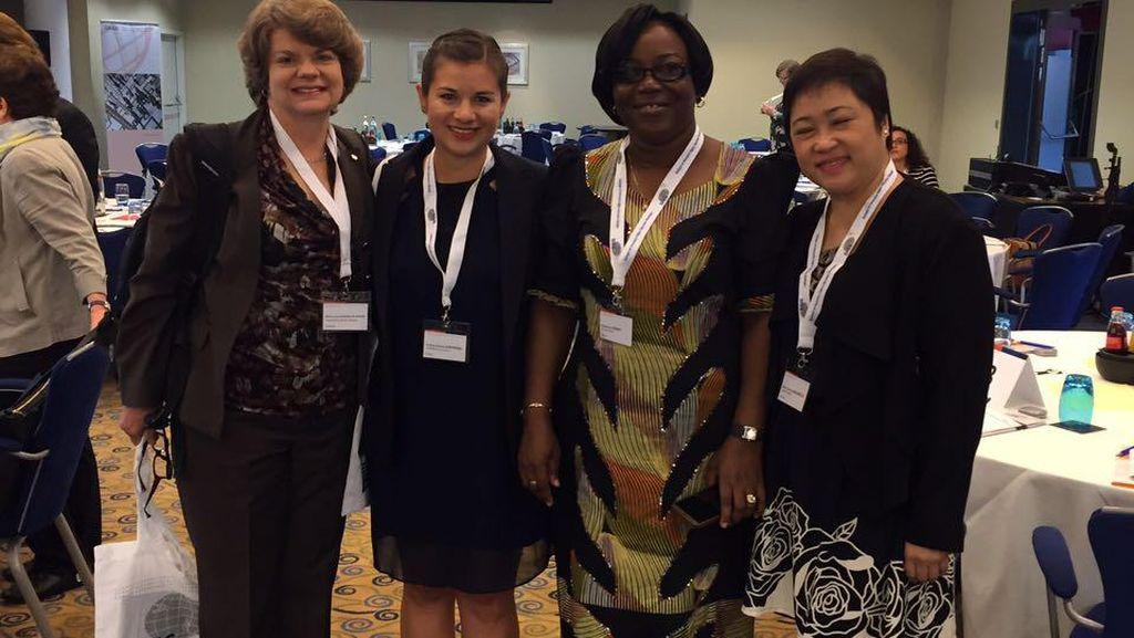 Di Forum Internasional, Doktor Wanita RI Ini Bicara Kepemimpinan