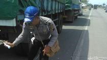 Tabrak Truk Parkir, Pemotor di Rembang Tewas Seketika