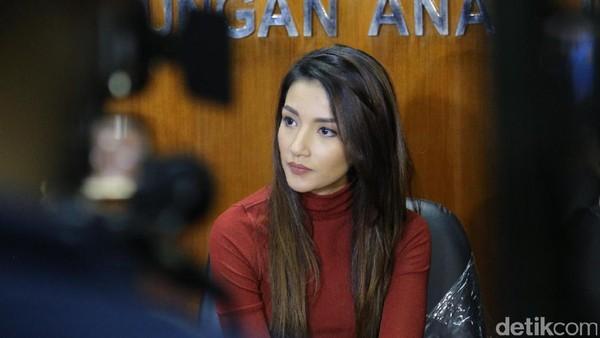 Sambil Menangis, Tsania Marwa: Saya Rindu Anak Saya!