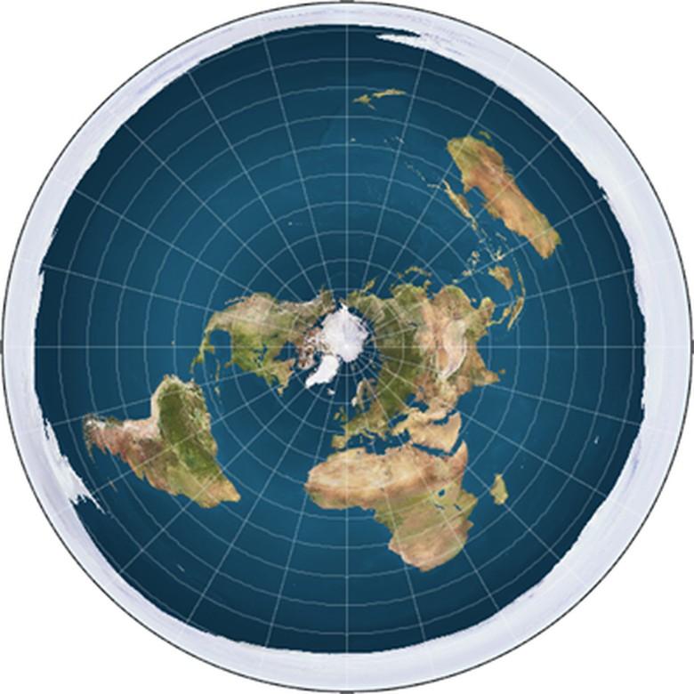 Pendukung Bumi Makin Diolok Makin - Flat Earth Theory Banyak netizen dinilai mencari popularitas dengan mendukung Teori Bumi Datar yang viral di Makin makin