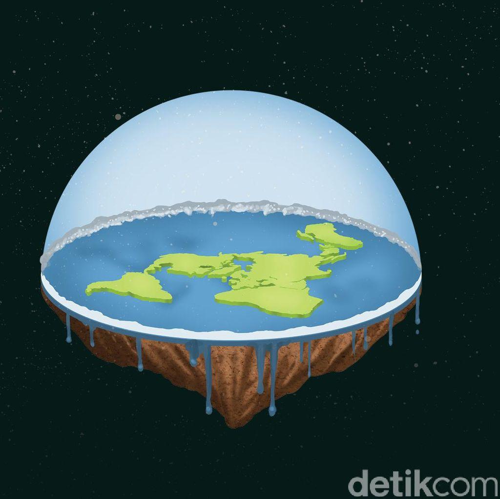 Mereka yang Percaya Bumi Itu Datar