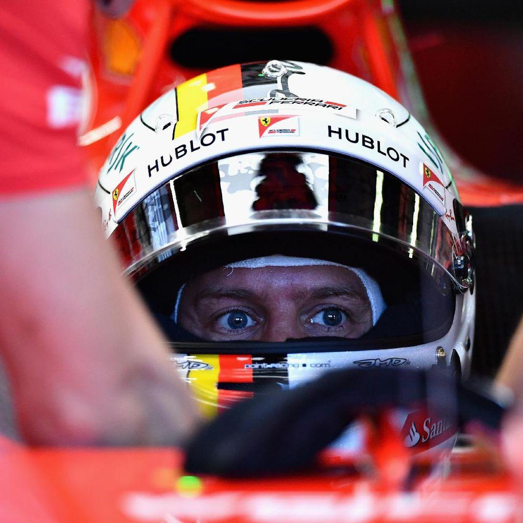 Sesi Akhir Milik Vettel, Ferrari 1-2