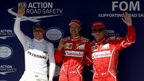Vettel Rebut Pole, Ferrari Start 1-2