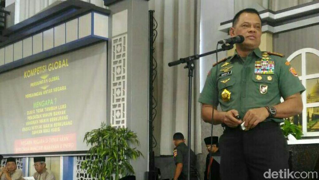 Panglima TNI Menyayangkan Gambar Bendera RI Terbalik di Malaysia