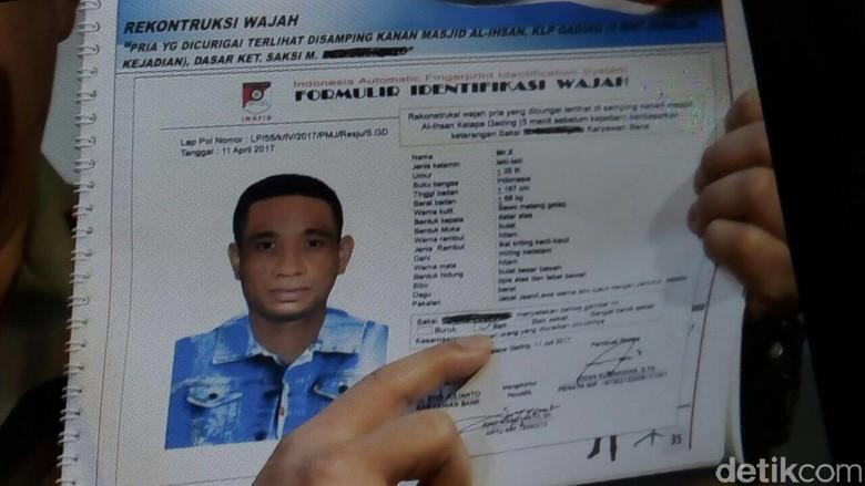 Sketsa Peneror Novel Diumumkan, Warga Silakan Beri Info ke Polisi