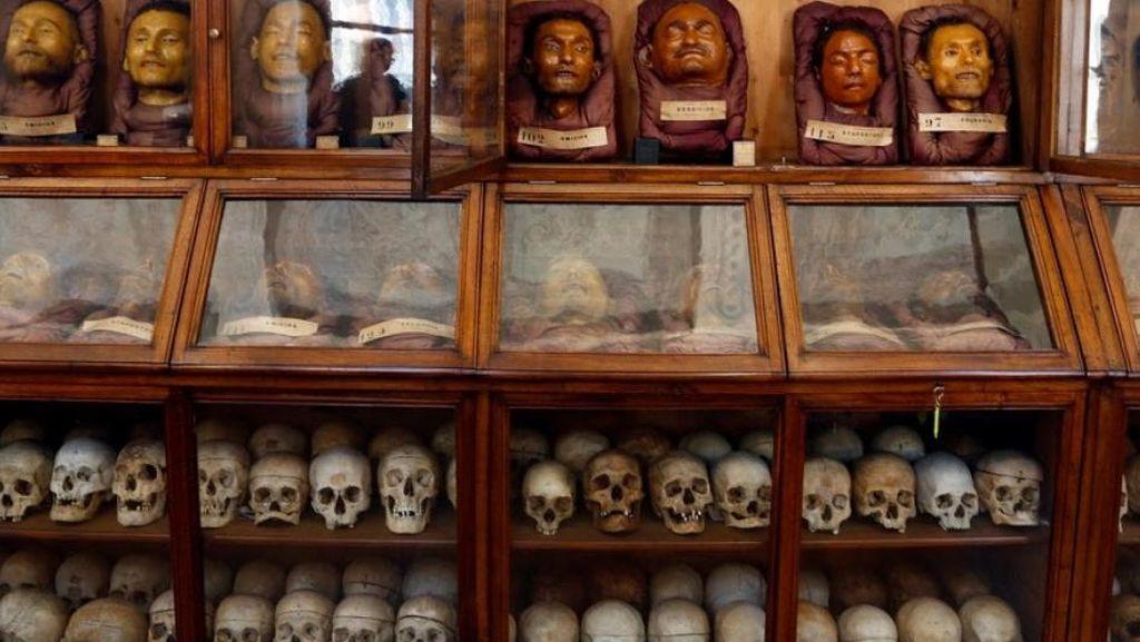 Foto: Museum Isinya Tengkorak Para Kriminal