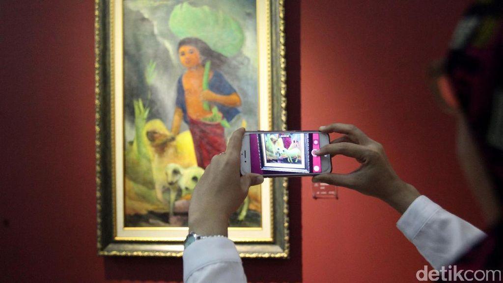 Ke Galnas Yuk! Hari Ini Terakhir Pameran Lukisan Langka Istana Dibuka