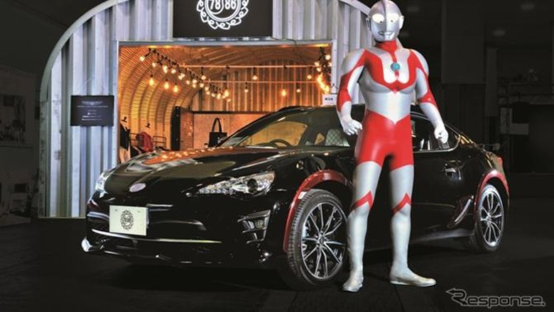 Toyota 86 Bergaya Ultraman