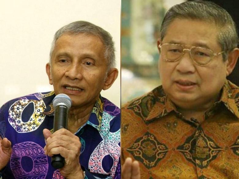 Semakin Panas... SBY Di Jadwalkan Bertemu Dengan Amien Rais