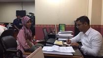 Penampakan Sugiarti yang Terlibat Order Fiktif Go Food Saat Diperiksa