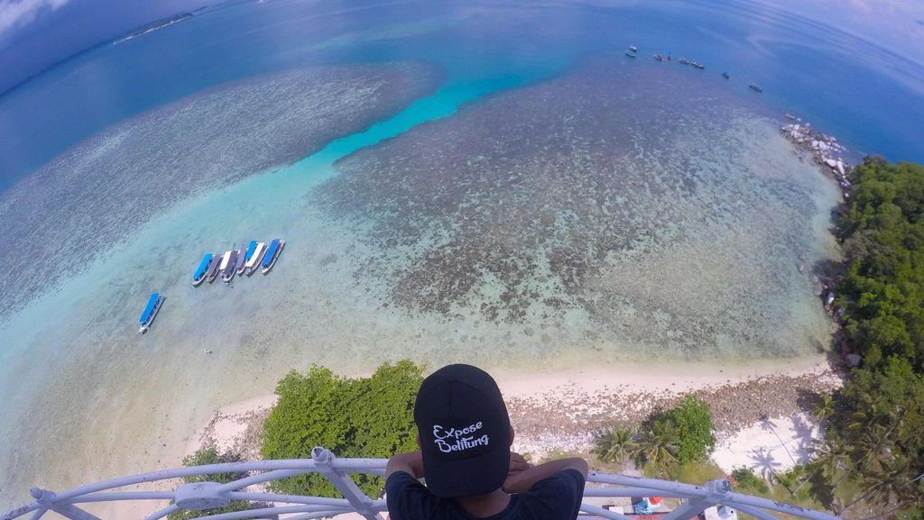 Expose Belitung, beautiful perspective view