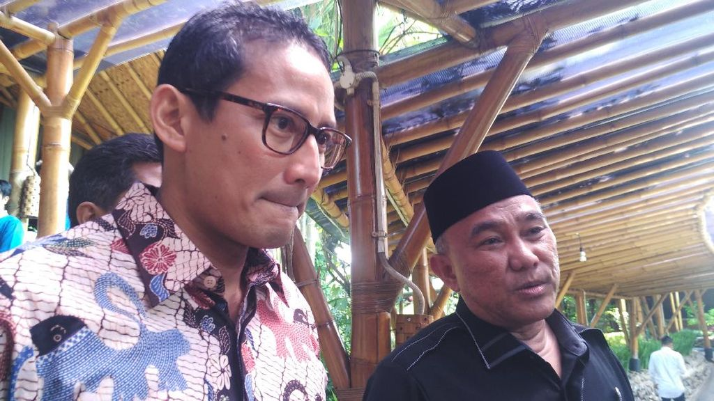 Bertemu Wali Kota Depok, Sandiaga Bahas Normalisasi Kali Ciliwung