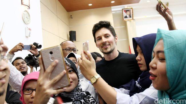 Mengintip Kunjungan CEO Telegram di Indonesia