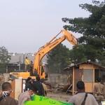 Ratusan Bangunan Liar di Taman BMW Dibongkar