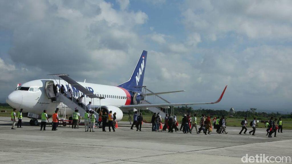 Nam Air Tambah Frekuensi Direct Flight Jakarta-Banyuwangi
