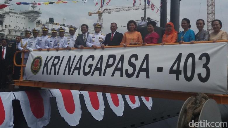 Foto: Ini KRI-Nagapasa-403, Kapal Selam Kolaborasi RI-Korsel