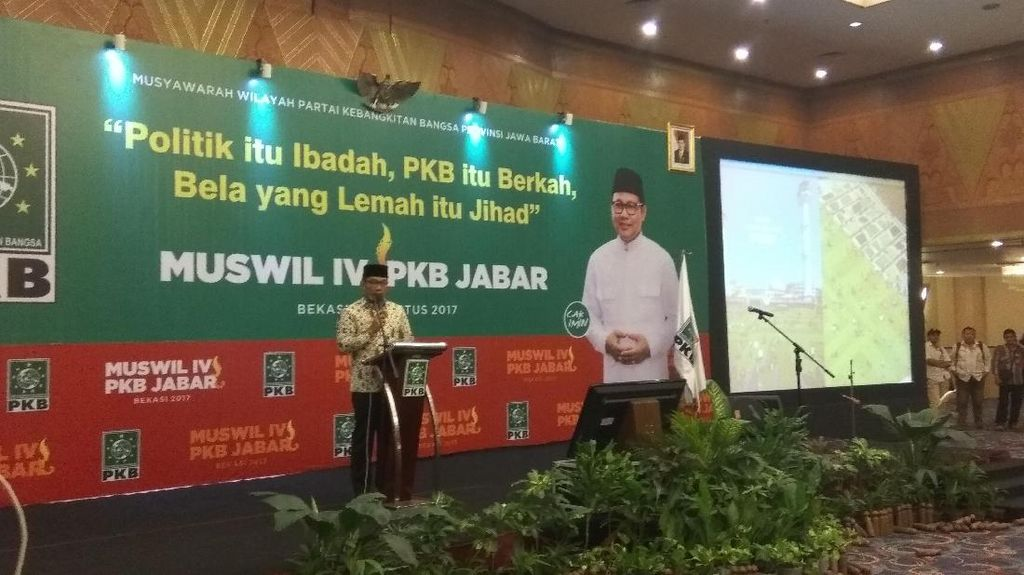 PKB Kode Keras Usung Ridwan Kamil di Pilgub Jabar