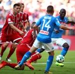 Bayern Ditekuk Napoli 0-2