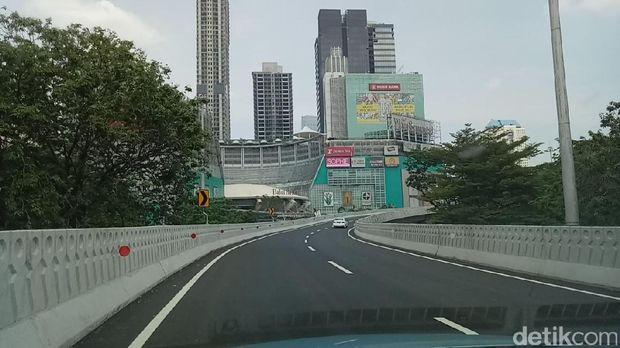 Napak Tilas Perjalanan Nyasar Habiburokhman di Simpang Susun Semanggi
