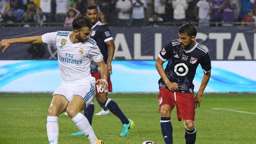 Aksi-Aksi dalam Laga Madrid vs MLS All-Stars
