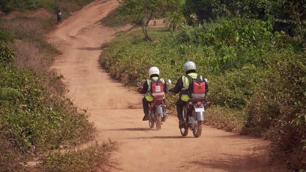 Potret Aksi Para Crosser di Afrika, Menerobos Medan Selamatkan Nyawa