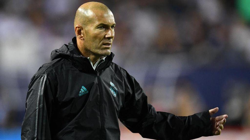 Zidane: La Liga Bakal Lebih Sulit Musim Ini