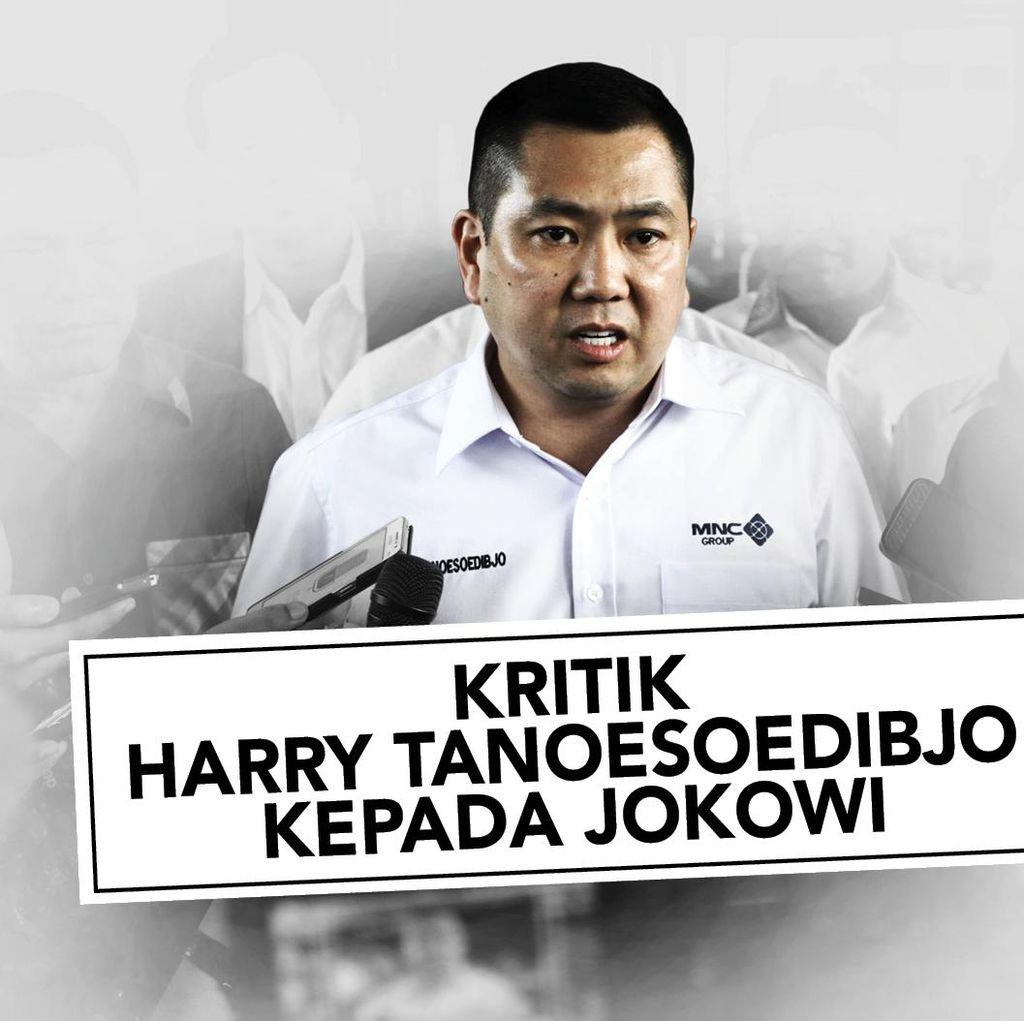 Jejak Serangan Hary Tanoe ke Jokowi