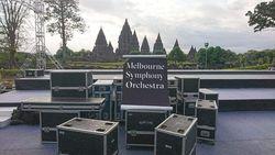 Orkestra Melbourne Akan Tampil di Candi Prambanan