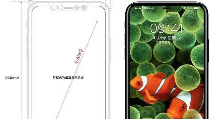 Konsep iPhone 8. Foto: Internet