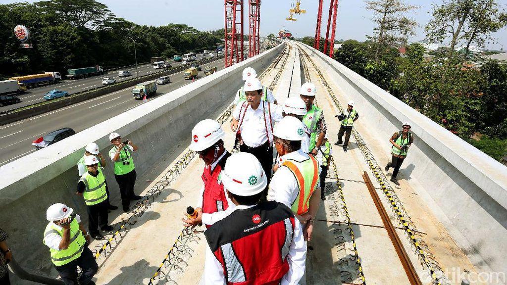LRT Jabodebek Beroperasi 2019, Macet di Cibubur Bisa Berkurang