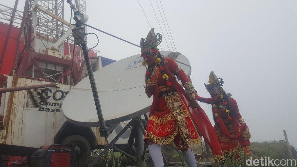 4G LTE Telkomsel Tiba di Kaki Gunung Semeru