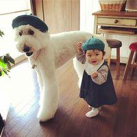 Gemes Banget Bayi Dan Anjing Ini Sering Pakai Baju Kembar Berita Liputan