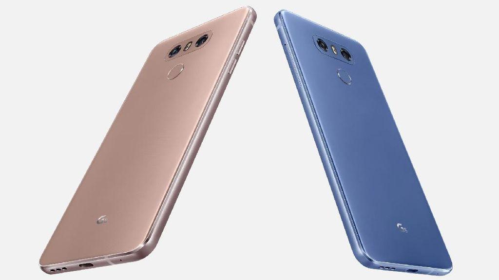Dua Warna Baru LG G6 Sapa Indonesia