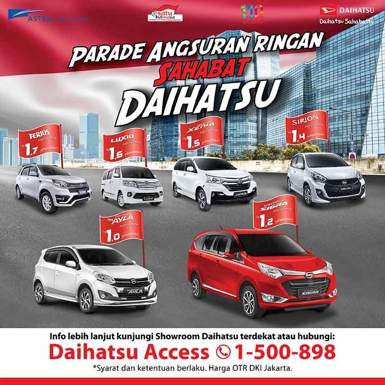 Miliki Mobil Impian Daihatsu, Cicilan Hanya Rp1 Jutaan