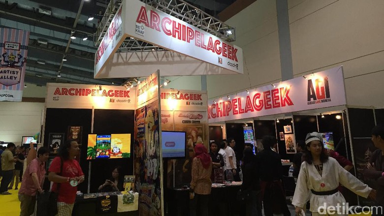 Bekraf Hadirkan Archipelageek dengan 12 Game Developer di Popcon Asia 2017