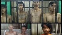 Polisi Tangkap 7 Pelaku Perusakan Saat Demo Tolak Ojek Online