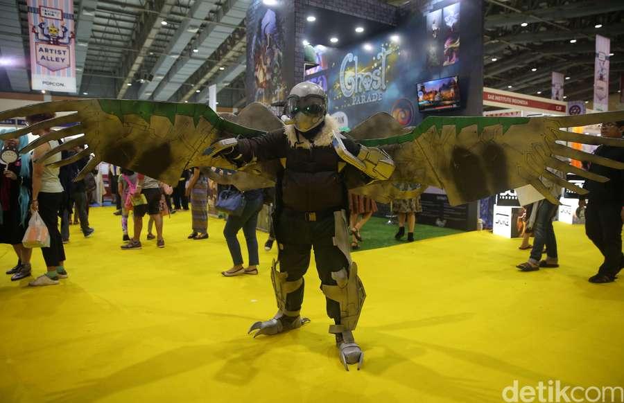 Seru-seruan di Popcon Asia 2017