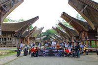 Moge Honda Tuntas Jelajahi Bumi Sulawesi