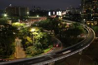 Jembatan Simpang Susun Semanggi tak kalah keren dengan simpang susun negara-negara maju
